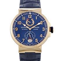 Ulysse Nardin Marine Chronometer Manufacture 1186-126/43 новые