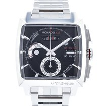 TAG Heuer Monaco Calibre 12 Steel 40.5mm Black United States of America, Georgia, Atlanta
