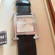 Hermès Stahl 41mm Quarz Hermes Heure H HH1.830 steel diamond gebraucht