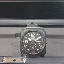 Bell & Ross Acier 42mm Remontage automatique BR0351-GMT-CA occasion France, PARIS