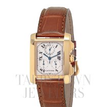 Cartier W50005R2 Yellow gold Tank Française 36mm pre-owned United States of America, New York, Hartsdale