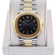 Patek Philippe 3800/001 Gold/Steel 1991 Nautilus 37mm pre-owned