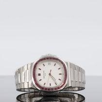 Patek Philippe Nautilus Platinum 39mm White No numerals