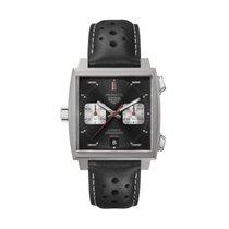 TAG Heuer Monaco ny 2020 Automatisk Kronograf Klokke med original eske og originale dokumenter CAW211Z.FC6470