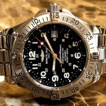 Breitling Superocean Steelfish Steel 42mm Black Arabic numerals United States of America, Pennsylvania, Philadelphia