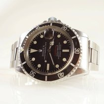 Rolex Submariner Date pre-owned 40mm Brown Date Steel