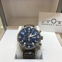 萬國 Pilot Chronograph 鋼 43mm 藍色 香港, TSIM SHA TSUI, KOWLOON