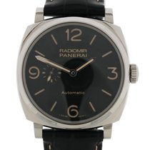 Panerai Radiomir 1940 3 Days Automatic Staal 45mm Zwart Arabisch Nederland, The Netherlands