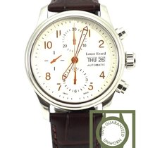 Louis Erard Heritage Day Date Chronograph Steel Automatic 40mm...