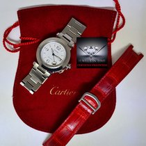 Cartier Pasha 35mm Stainless Steel Automatic Watch Bracelet...