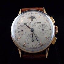Universal Genève Tri Compax full calendar-Chronograph–1940's –...