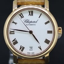 Chopard Classic Date Automatic 18KT Croco Strap Full Set 2017
