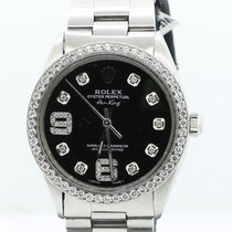 Rolex Air King Precision Steel 34mm No numerals United States of America, New York, New York