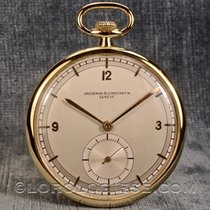 Vacheron Constantin –  Vintage 1920's 18 Kt. Gold Sector-dial...
