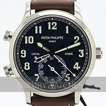 Patek Philippe 42mm Automatic 2017 new Travel Time Black