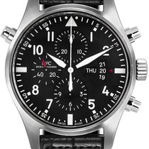 IWC Pilot Double Chronograph new 2019 Automatic Watch with original box and original papers IW377801