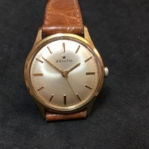 Zenith Stellina - 34mm - Manual Winding - 1970 - Yellow Gold
