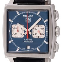 TAG Heuer : Monaco Chronograph 'Steve McQueen' :  CW2113.FC618...