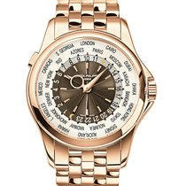 Patek Philippe World Time Rose gold 39.5mm Brown United Kingdom, London