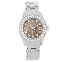 Rolex Lady-Datejust Pearlmaster White gold 29mm Mother of pearl United States of America, Georgia, Atlanta