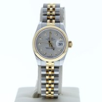 Rolex Silver Automatic Silver 26mm pre-owned Lady-Datejust