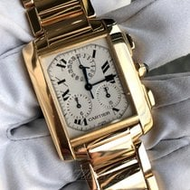 Cartier W50005R2 Yellow gold Tank Française 35mm pre-owned United States of America, Texas, Frisco