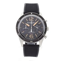Bell & Ross BRV126-ST-HER/SRB Steel Vintage 43mm pre-owned United States of America, Pennsylvania, Bala Cynwyd