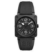 Bell & Ross BR 03-92 Ceramic new Automatic Watch with original box and original papers BR0392BLCE