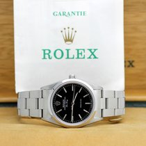 Rolex Air King Precision Acero 34mm Negro Árabes