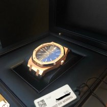 Audemars Piguet 15400or.oo.d002cr.01 Roségold 2017 Royal Oak Selfwinding 41mm gebraucht
