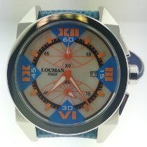 Locman Cavallo Pazzo 45mm Mother of pearl Roman numerals