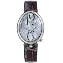 Breguet pre-owned Automatic 35.5mm Mother of pearl Sapphire crystal 3 ATM