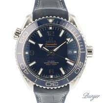 Omega Seamaster Planet Ocean Acero 43.5mm Azul Árabes