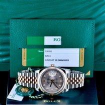Rolex Datejust II новые 2019 Автоподзавод Часы с оригинальными документами и коробкой Rolex Datejust 41 Jubilee 126331 Sundust 10 Diamonds