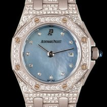 Audemars Piguet White gold Quartz Mother of pearl 29mm pre-owned Royal Oak Offshore