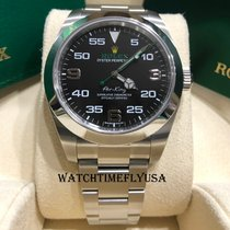 Rolex Air King new 2019 Automatic Watch with original box and original papers 116900bk
