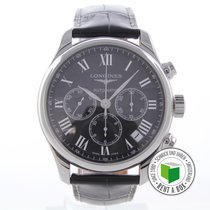 Longines Master Collection Steel 44mm Roman numerals