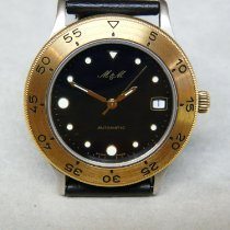 M&M Swiss Watch Stål 38mm Automatisk 8005.77 ny