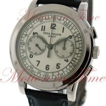 Patek Philippe Chronograph White gold 42mm Silver Arabic numerals United States of America, New York, New York