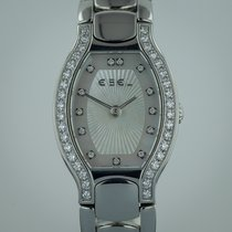 Ebel Beluga Tonneau, Ladies, Stainless Steel, Diamonds, MOP...
