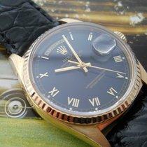 Rolex DAY-DATE REF.18238 ROMAN DIAL BLACK