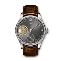 IWC Portuguese Tourbillon White gold 43mm Grey Arabic numerals United States of America, New York, New York