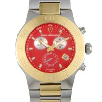 Tonino Lamborghini Chronograph Quartz new Red