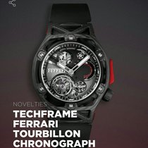 Hublot Techframe Ferrari Tourbillon Chronograph usados Carbono