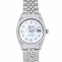 Rolex Datejust 36mm Silver No numerals