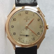 Omega Vintage Cal.267 Teddington 18K Rose Gold