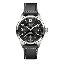 Hamilton Steel Automatic Black 42mm new Khaki Field Day Date