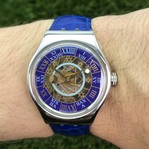 Swatch Steel Automatic Blue 36mm new