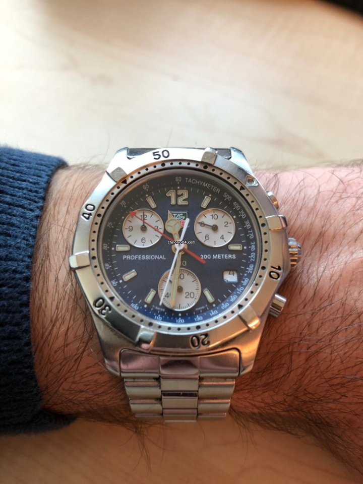 19d57dc98b1 TAG Heuer 2000 - all prices for TAG Heuer 2000 watches on Chrono24