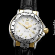 TAG Heuer 6000 Gold/Steel 30mm White